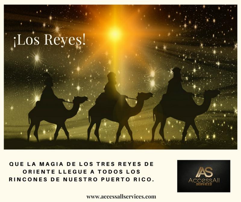 Feliz Día De Reyes Access All Services