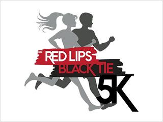 Red Lips Black Tie 5K